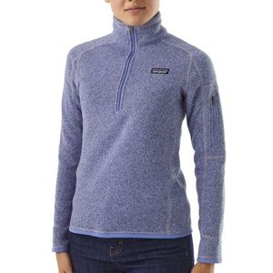 Patagonia Charcoal Grey Better Sweater 1/4 Zip S